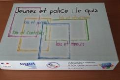 Atelier création de jeux «jeunes et police» ETAPE 2